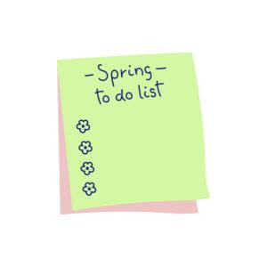 Spring List HVAC To Do