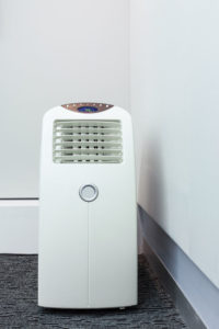 portable air conditioner cooling system