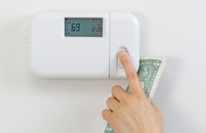 setting thermostat hvac inspection
