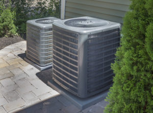 heating air conditioning ventilation hvac two units