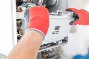 Gas Furnace Repair maintenance man