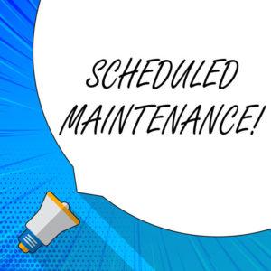 Pasterkamp Scheduled Maintenance
