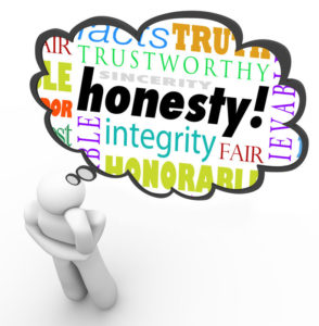 honesty trustworthy skilled experience reliable