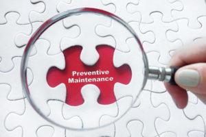 Preventive maintenance ac repair parts services