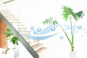 clean air filtered indoor HVAC filters